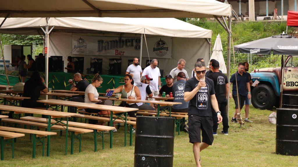 Participantes e cerveja