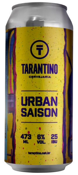 Rótulo Adesivo Tarantino Urban Saison LabelBeer