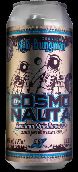 Rótulo Adesivo Burgman Cosmonauta LabelBeer